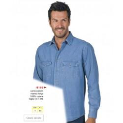 camicie uomo jeans