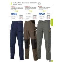 Pantaloni tessuto tecnico