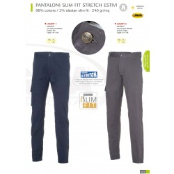 Pantaloni da lavoro slim fit