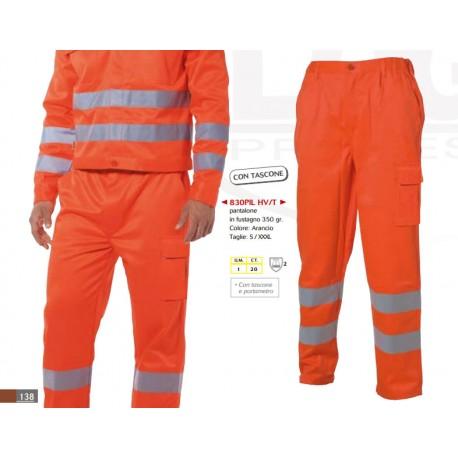 Pantaloni alta visibilità invernali