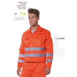 Giacca arancione da lavoro invernale