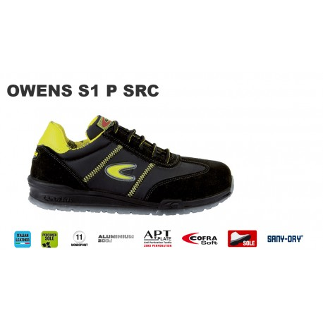 brand new 12c0f 6e0f4 Scarpe antinfortunistiche Cofra Owens S1