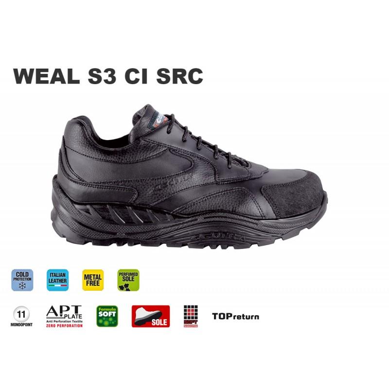 Scarpe antinfortunistiche Cofra Weal S3