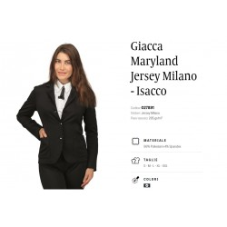 Giacca Maryland Jersey Milano Isacco