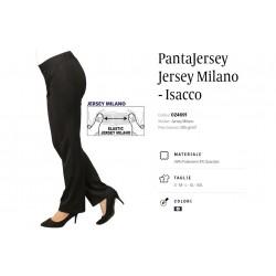 PantaJersey Jersey Milano Donna Nero Isacco