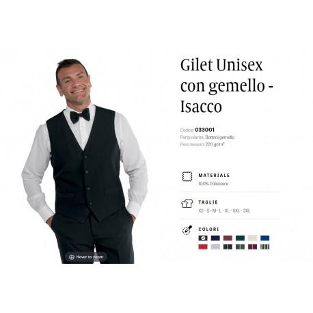 Gilet Unisex con gemello