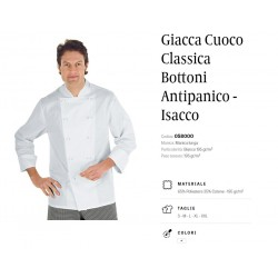 Giacca da Cuoco Classica Isacco
