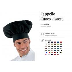 Cappello da Cuoco nero
