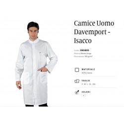 Camice uomo Davemport Bianco Isacco