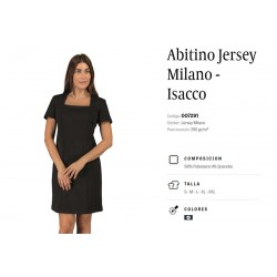Abitino Jersey Milano Nero