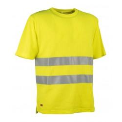 Maglietta alta visibilità giallo