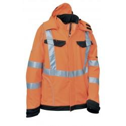 Giubbotto da lavoro invernale arancione