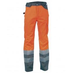 Pantaloni da lavoro Cofra Ray arancione