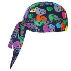 Bandana da Cuoco fantasia skulls