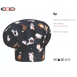 Cappello da Cuoco Puppies