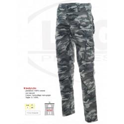 Pantaloni da lavoro con tasconi