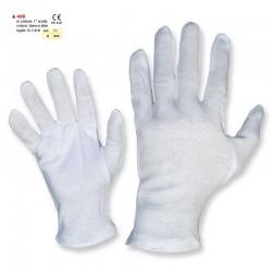 Guanti di cotone bianchi