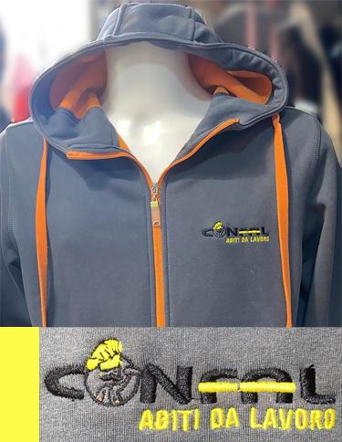 Abbigliamento da lavoro Personalizzato con logo Confal