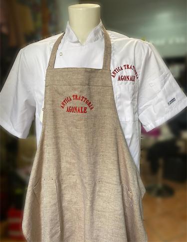 Divisa da Cuoco personalizzata per Antica Trattoria Agonale