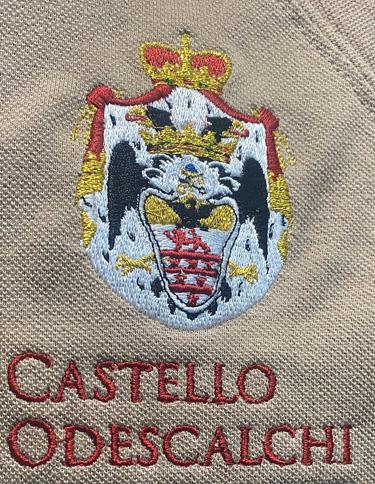 Logo ricamato divisa Staff Castello Bracciano