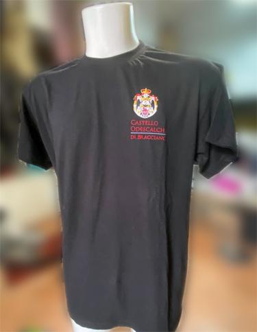 Abbigliamento da lavoro personalizzato staff Castello Odescalchi Bracciano