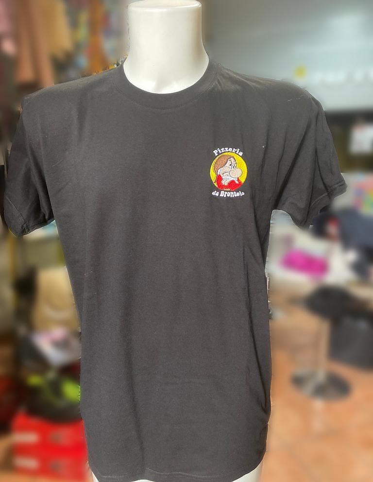 Maglietta personalizzata Pizzeria da Brontolo, Anguillara