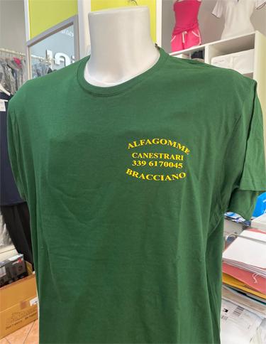 Maglietta personalizzata Al.fa. Gomme srl Bracciano