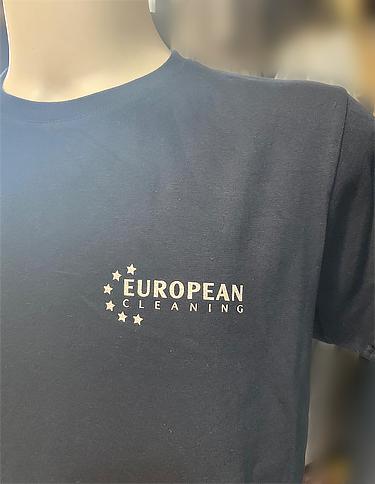 Maglietta personalizzata European Cleaning