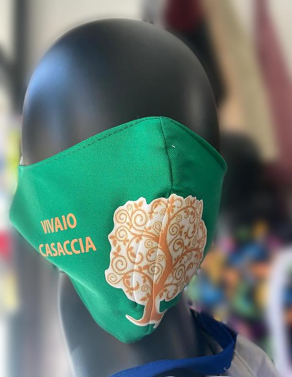 Mascherina personalizzata Vivaio Casaccia, Manziana