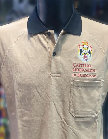 Polo personalizzata staff Castello Odescalchi Bracciano