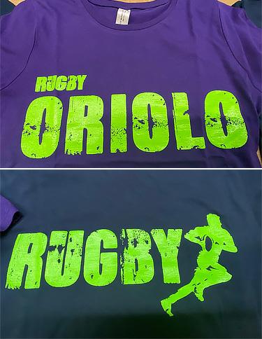 T-scirt Personalizzata Rugby Oriolo
