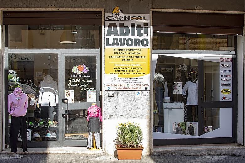 CONFAL - Negozio Abiti da lavoro Bracciano, Roma